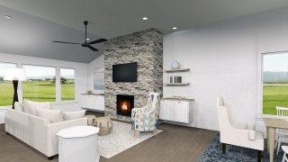 The Magnolia a custom home in Soraya Farms by Design Homes