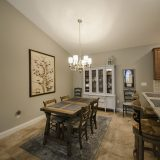 Dining room of a custom Abbington by Design Homes & Development.