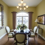 Custom dining room by Design Homes. Located in Soraya Farms.