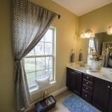 Custom master bathroom by Design Homes. Located in Soraya Farms.