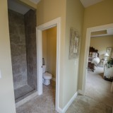 Custom master bathroom by Design Homes. Located in Soraya Farms.