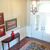Custom entry of 1601 Wisteria by Design Homes & Development.