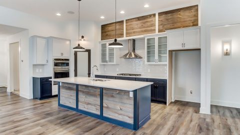 Kitchen of the Magnolia in Soraya Farms by Design Homes