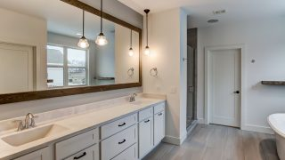 Master Bath of the Magnolia in Soraya Farms by Design Homes