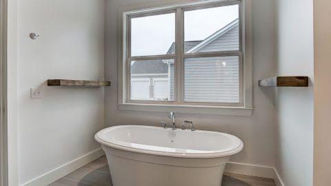 Master Bath of the Magnolia in Soraya Farms by Design Homes