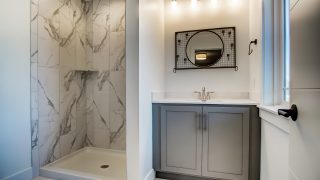A bath of the Sierra II in Cypress Ridge by Design Homes