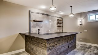 The rec room of the Sierra II in Cypress Ridge by Design Homes