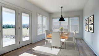 The breakfast room of the Sierra II in Cypress Ridge by Design Homes