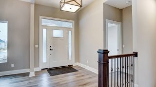 The Entry of the Oakwood in Soraya Farms by Design Homes