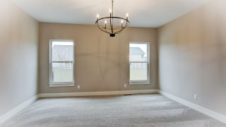 The Master Bedroom of the Oakwood in Soraya Farms by Design Homes