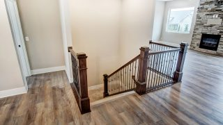 The Stairs of the Oakwood in Soraya Farms by Design Homes