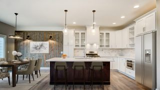 The Kitchen of the Oakwood in Soraya Farms by Design Homes