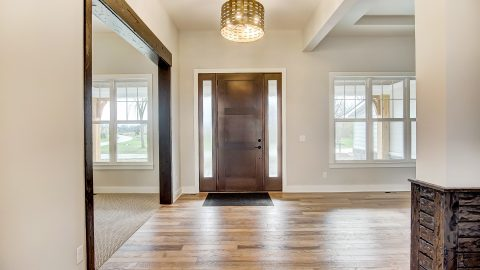 The Entry of the Anna in Cypress Ridge by Design Homes