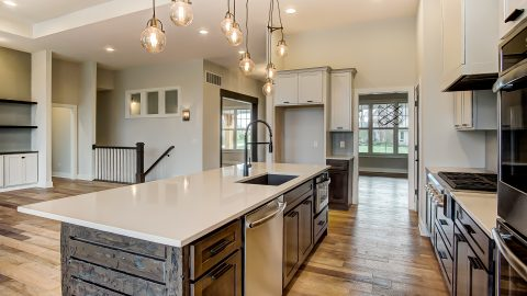 The Kitchen of the Anna in Cypress Ridge by Design Homes