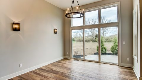 The Breakfast Nook of the Anna in Cypress Ridge by Design Homes
