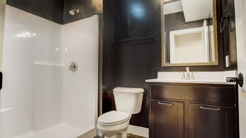 A Bathroom of the Anna in Cypress Ridge by Design Homes