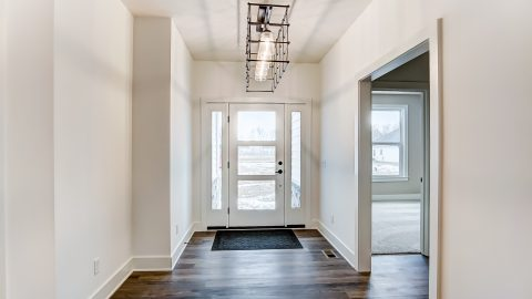 The Foyer of the Magnolia in Soraya Farms by Design Homes