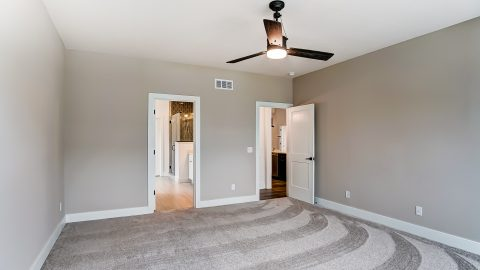 The Master Bedroom of the Magnolia in Soraya Farms by Design Homes