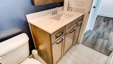 A Bathroom of the Magnolia in Soraya Farms by Design Homes