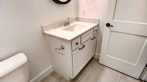 A Bathroom of the Magnolia in Soraya Farms by Design Homes