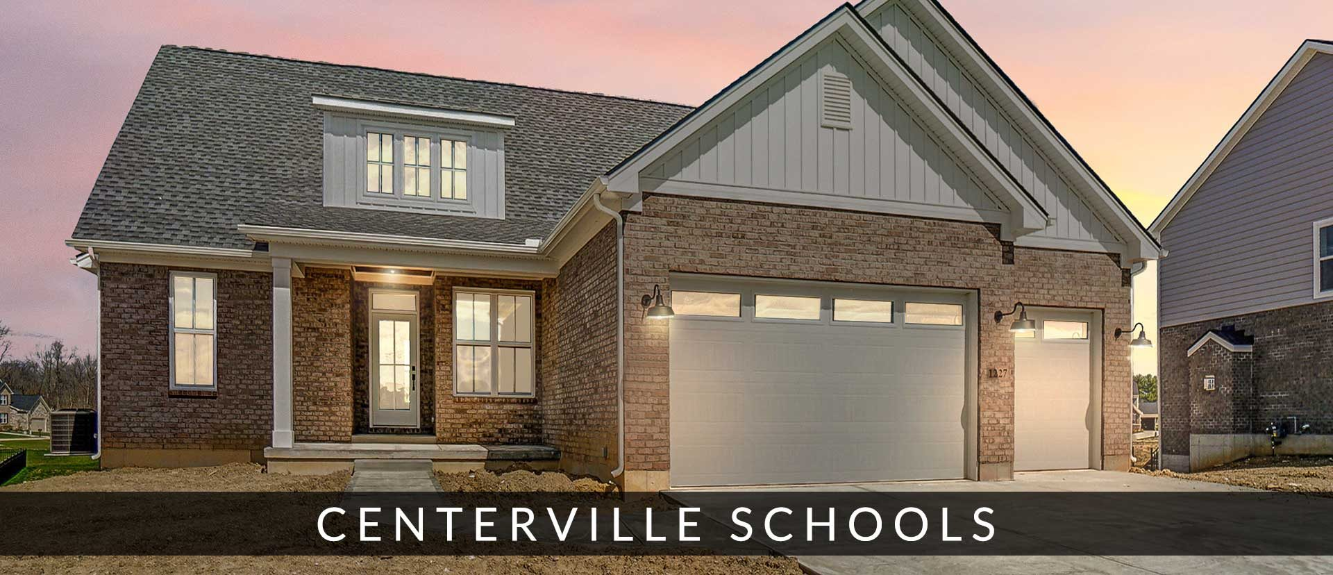 New Centerville homes