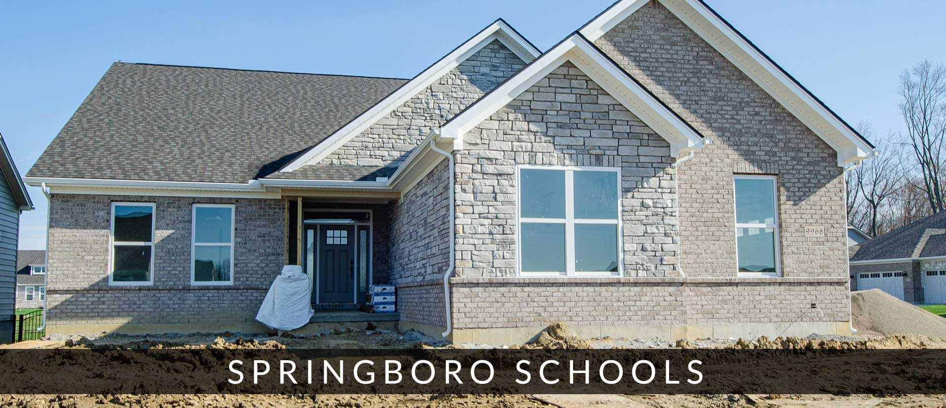 New homes in Springboro