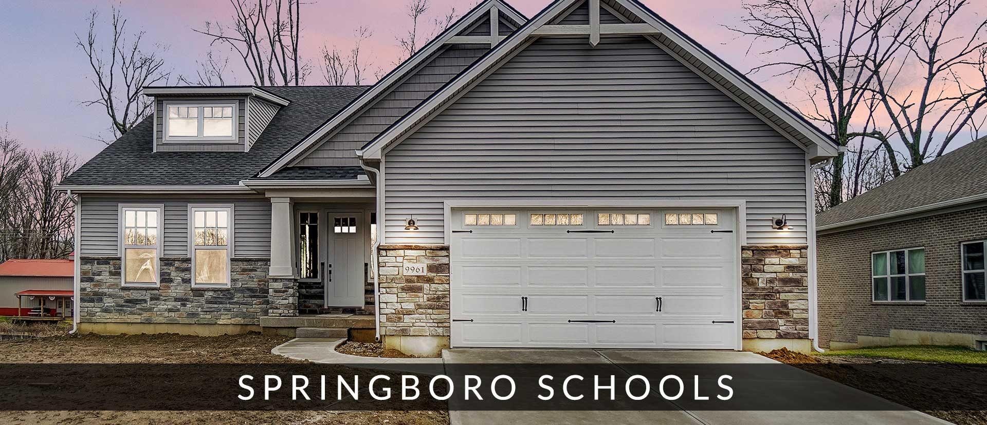 New homes Springboro