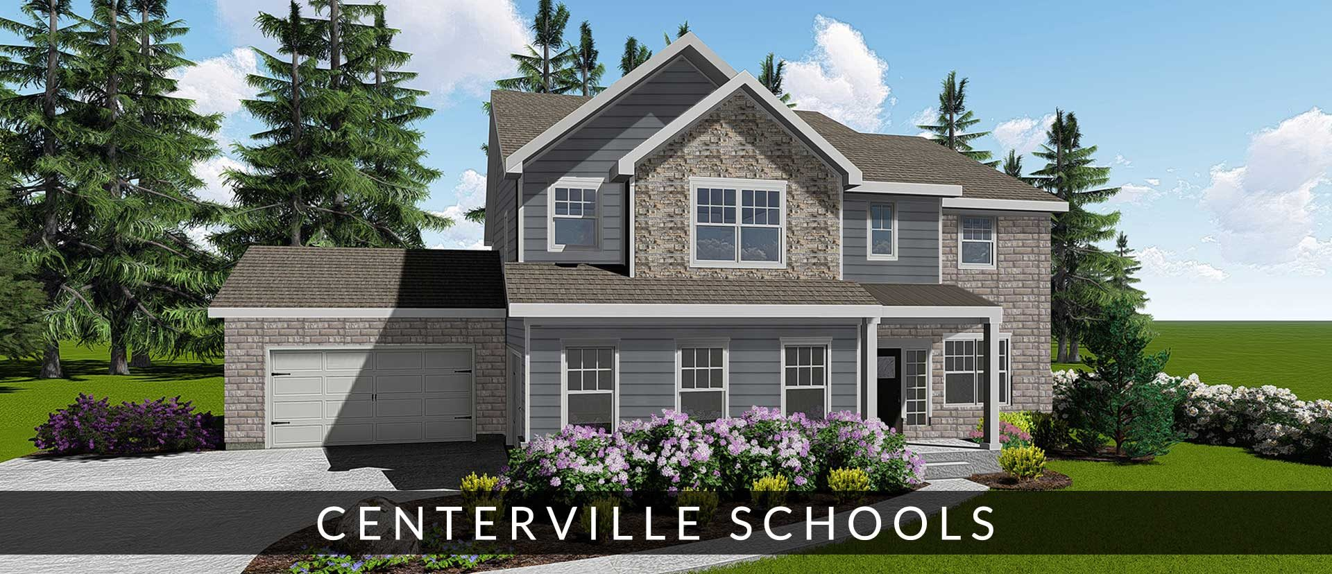 new homes for sale in Centerville