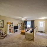 Great room of 2406 Brown Bark by Design Homes custom home builder.