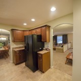 Kitchen of 2406 Brown Bark by Design Homes custom home builder.