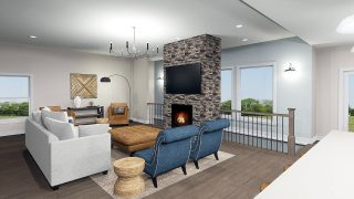 The Riverwood in Savannah Farms by Design Homes