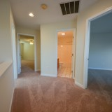 Hallway in Fairway Crossing rental by Design Homes.