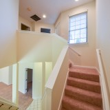 Stairwell in Fairway Crossing rental by Design Homes.