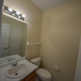 Half bathroom in Fairway Crossing rental by Design Homes.