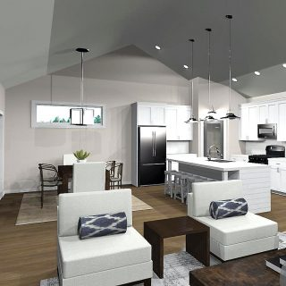 The Bristol Kitchen by Design Homes and Development Co. in Soraya Farms