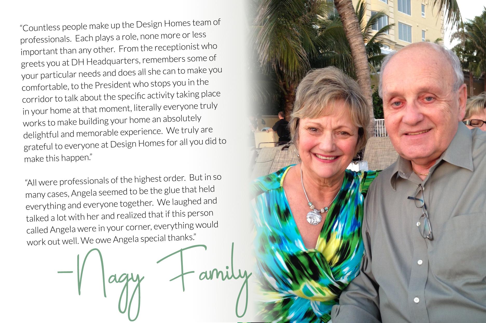 Nagy Family Testimonial