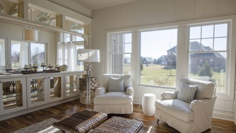 Custom Sun Room by Design Homes