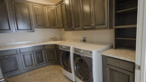 Custom Laundry Room by Design Homes