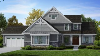 Custom Home in Cypress Ridge by Design Homes