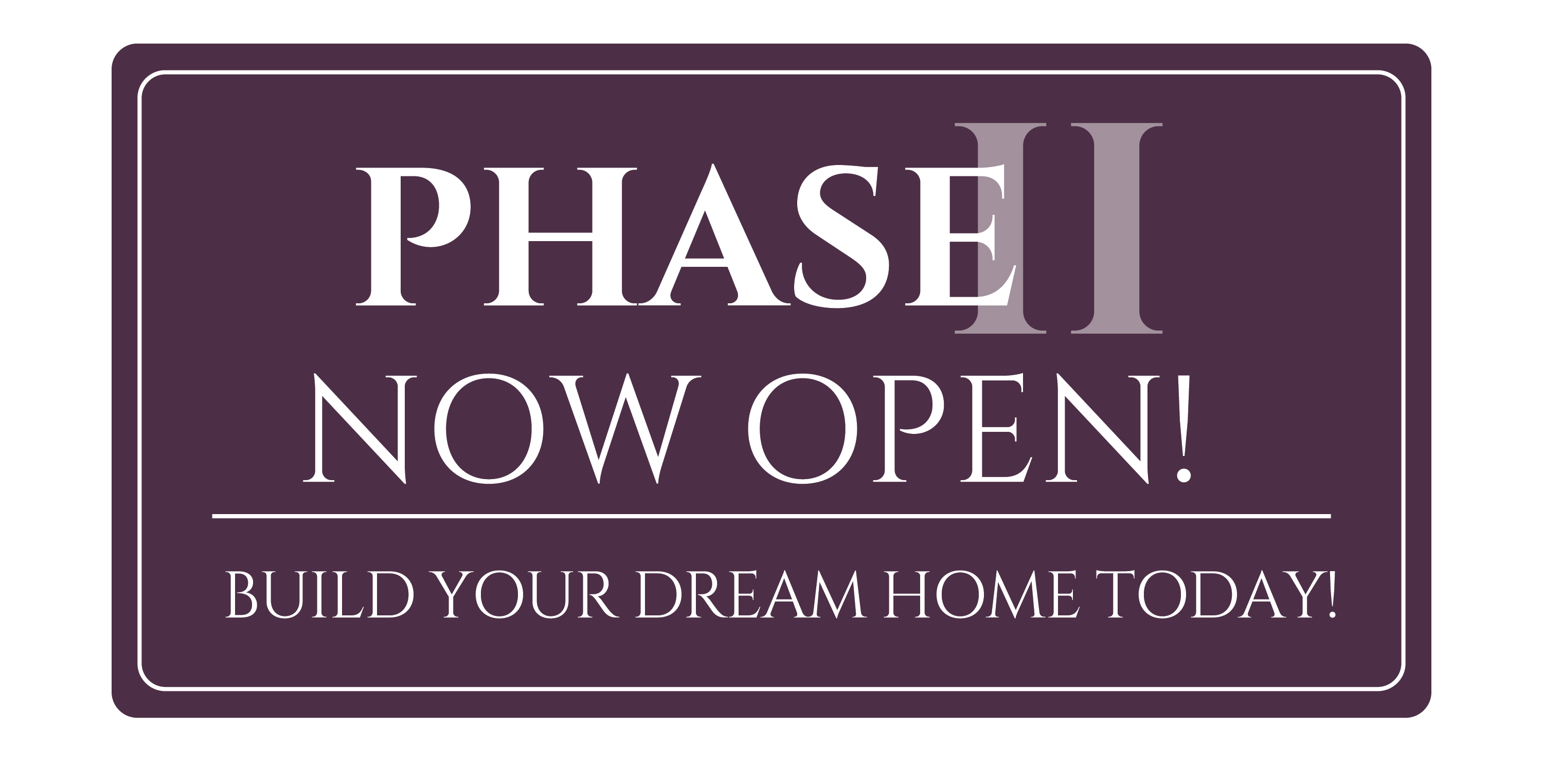 Phase two is now open in Bridle Creek. Build your custom, Design Home today!