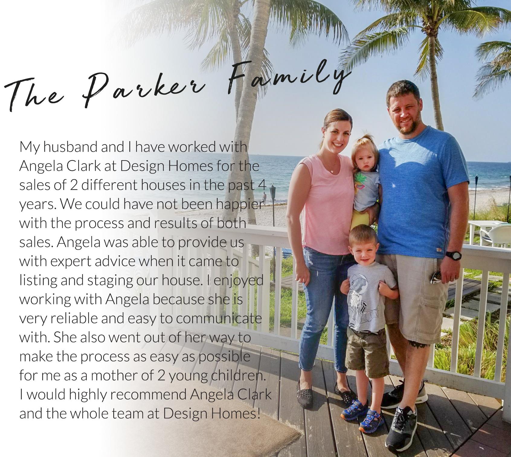 Parker Family Testimonial