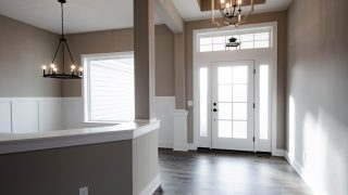 Entry of the Riverwood in Savannah Farms by Design Homes