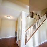 Custom entry by Design Homes.