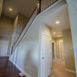 Custom hallway by Design Homes.