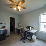 Sewing room of Beach residence. Listed by Design Homes & Development.