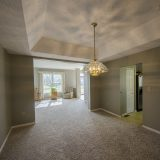 Dining room of Beach residence. Listed by Design Homes & Development.