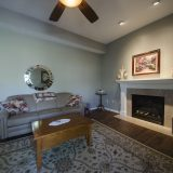 Great room of Beach residence. Listed by Design Homes & Development.