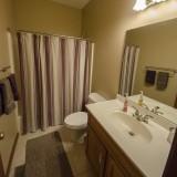 Half bathroom of a home on Chapel Drive, Springboro.