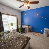 Bedroom of a home on Chapel Drive, Springboro.