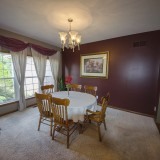 Dining room of a home on Chapel Drive, Springboro.
